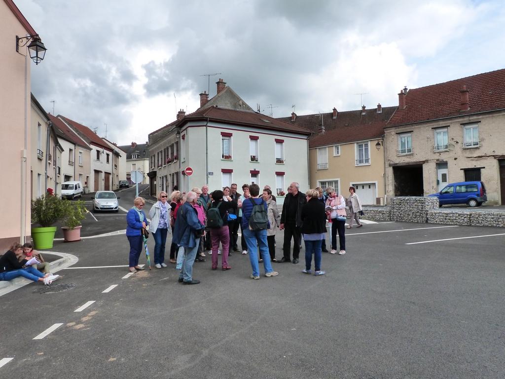 Le quartier du moulin d'en bas et de la porte saint Nicolas, lors des Journées Européennes du patrimoine à Dormans