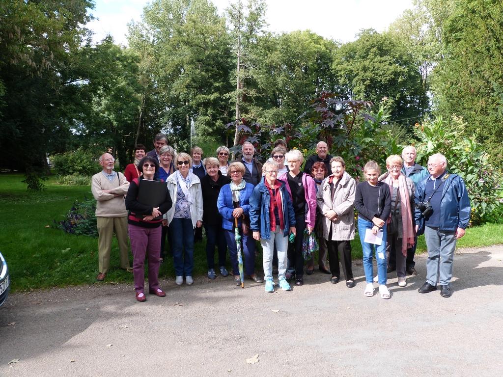 groupe dimanche lors des Journées Européennes du patrimoine à Dormans