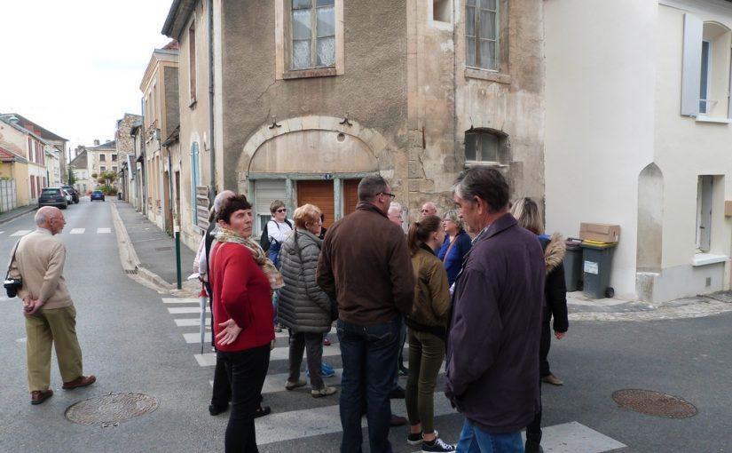 Les plus anciennes maisons de Dormans, lors des Journées Européennes du patrimoine à Dormans