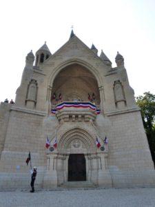 8 juillet 2018 Mémorial de Dormans : le Mémorial aux couleurs de la France