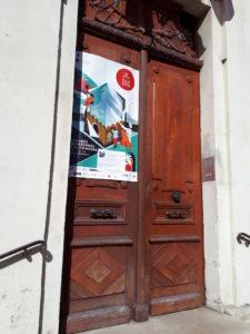 La porte de la mairie de Dormans pour les journées européennes du patrimoine