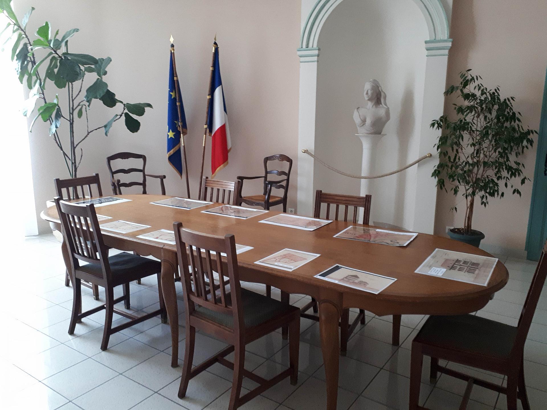 salle des mariages de Dormans Journées Européennes du Patrimoine