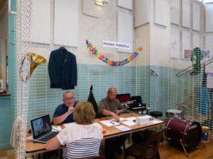 Le forum des associations 2018 à Dormans stand de la musique municipale