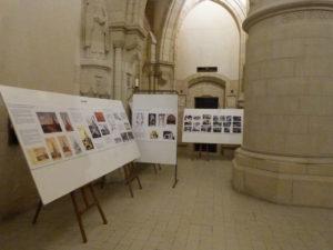 exposition sur l'histoire du Mémorial de Dormans