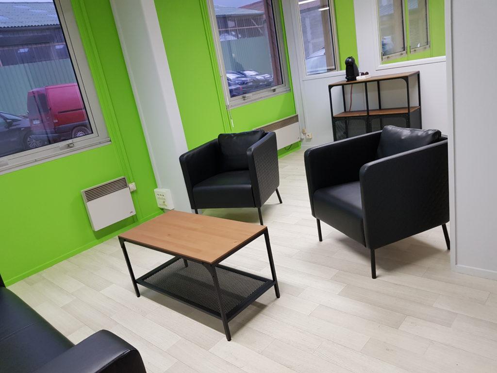 Un espace agréable pour discuter