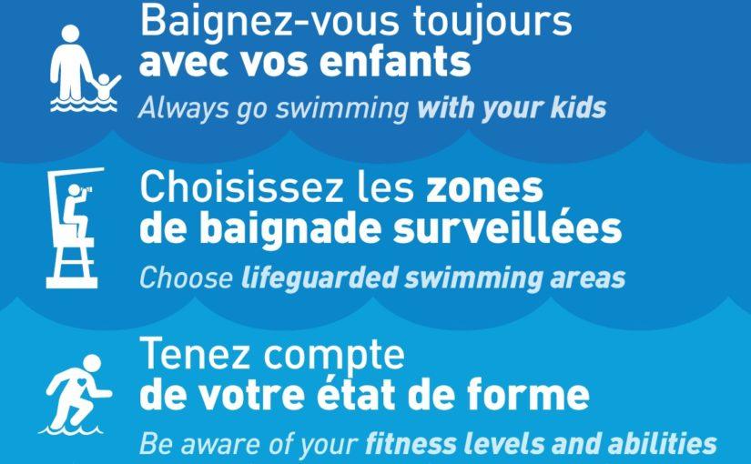 thumbnail of Se baigner sans danger