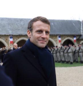 Le Président Macron au Mémorial de Dormans le 14 novembre 2019