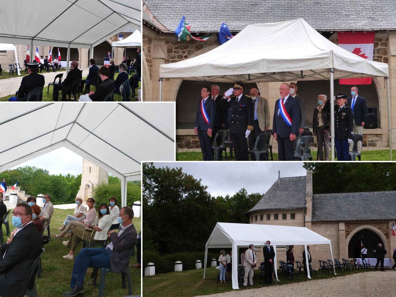 L'assistance lors de la cérémonie du 5 juillet au Mémorial de Dormans