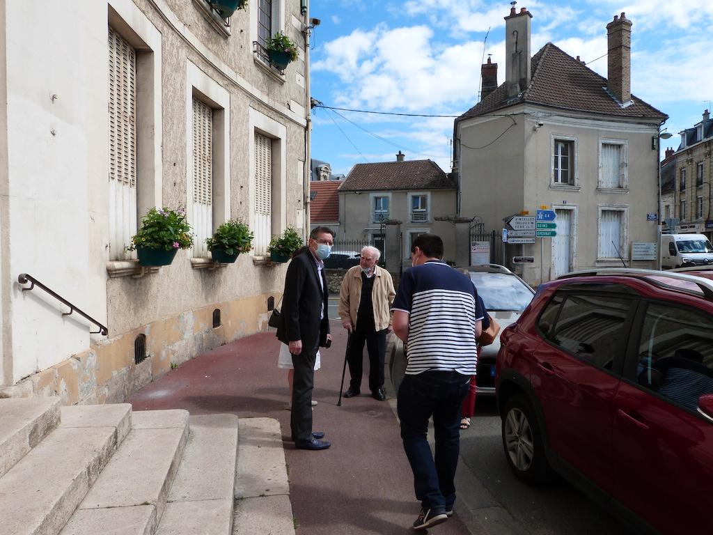 Accueil de Jean-Lous Pesch en mairie
