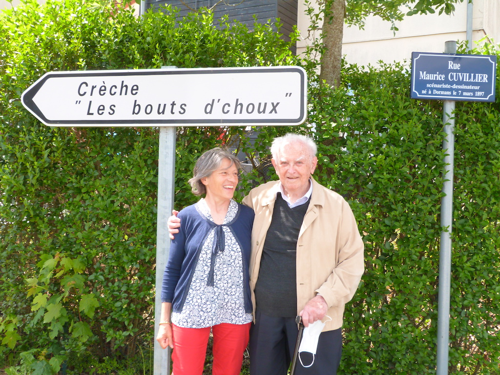 Jean-Louis et Arlette Pesch