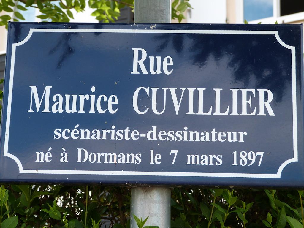 rue Maurice Cuvillier où se trouve la crèche.