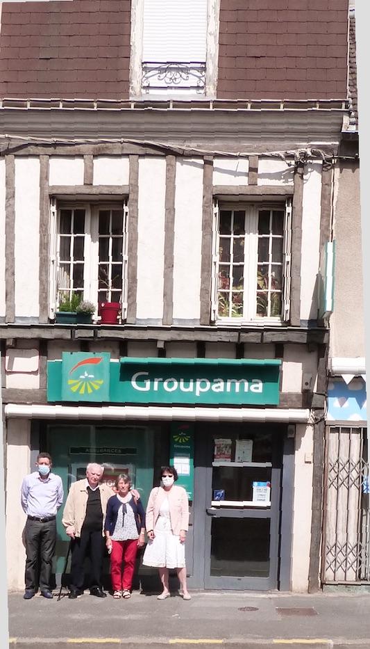 La maison natale de Maurice Cuvilliers à Dormans