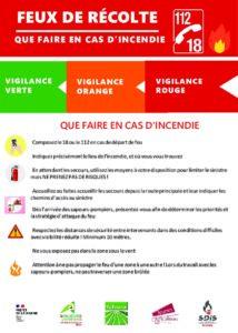 thumbnail of 2021 Affiche Que faire en cas d'incendie