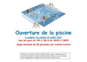 thumbnail of Ouverture piscine 2021